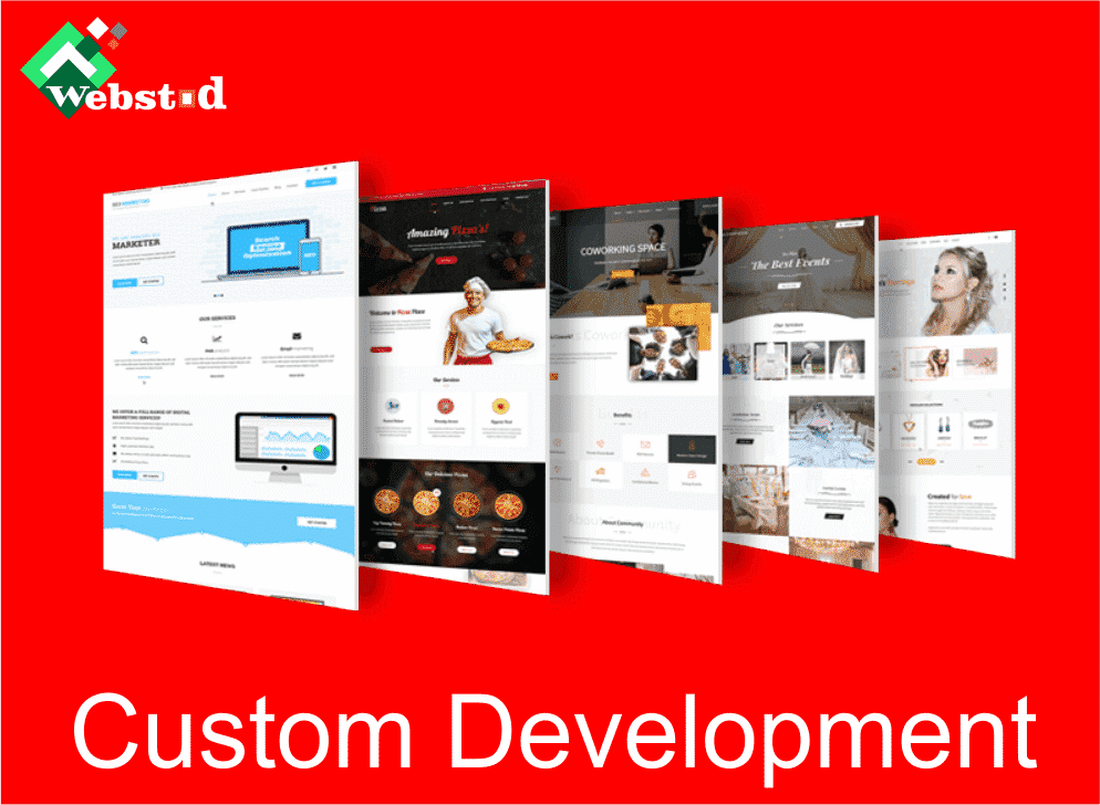 WordPress theme and custom development