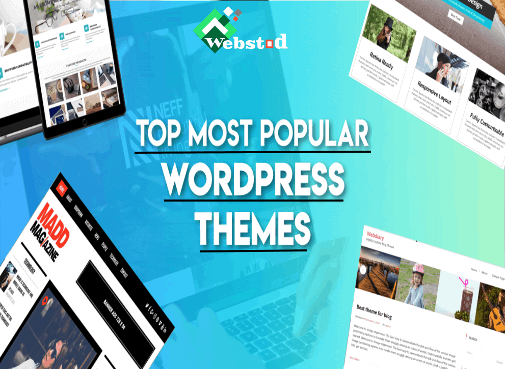6 Most Popular WordPress Themes of 2020