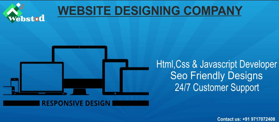 Website designing company in faridabad
